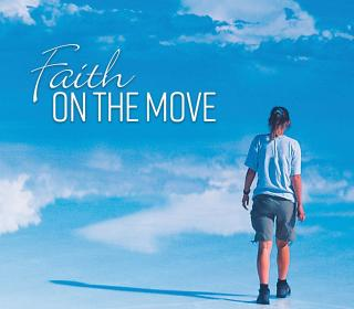 "Cover image of ""Faith on the Move"", the new United Church Lenten devotional"