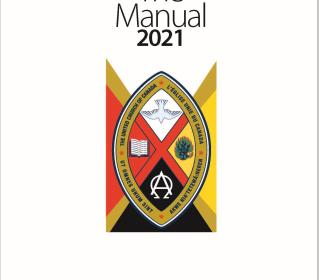 Image: cover of The Manual of The United Church of Canada, 2021