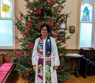Photo of Rev. Dr. Margaret MacDonald, ordained minister