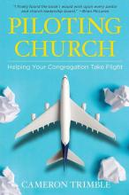 "The book cover for ""Piloting Church: Helping Your Congregation Take Flight."""