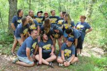Campers at Sherbrooke Lake Camp