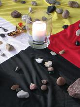 Four colours of the medicine wheel
