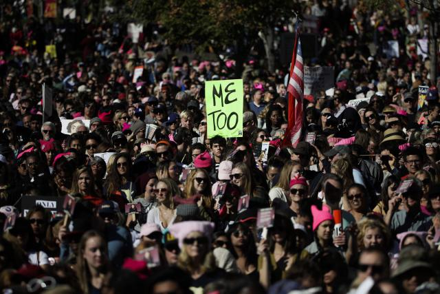 Photo of Los Angeles Women's March against sexual violence