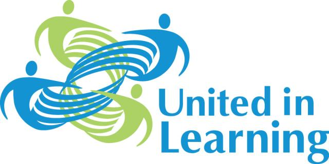 United in Learning Logo - people connected artwork